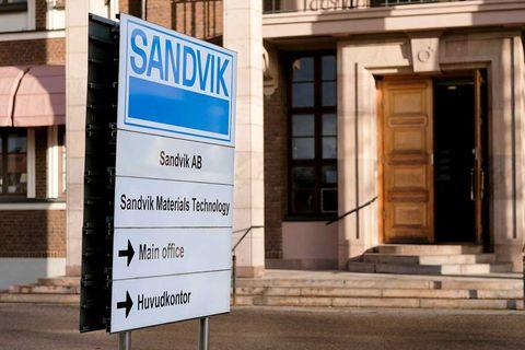 Industrivärden ökar i Sandvik