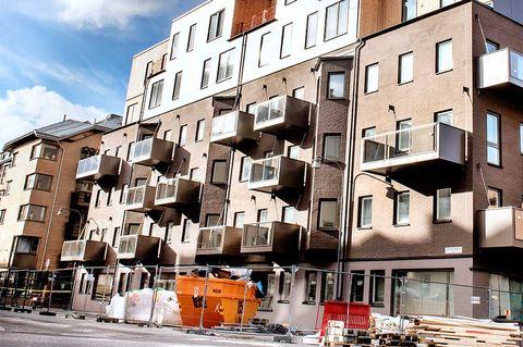 20 procent fler säljstartade lägenheter i Stockholm