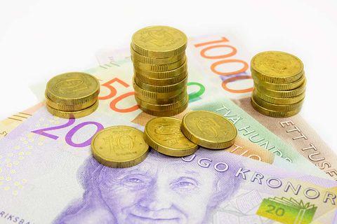 Riksbanken: Mer kontanter i rörelse