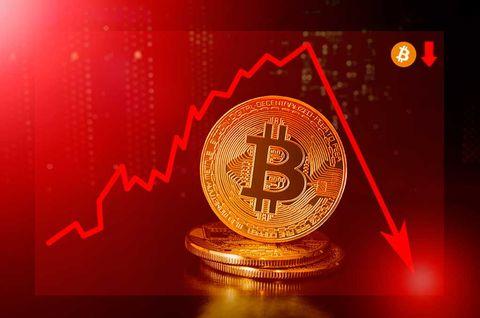Kryptovalutor faller på bred front