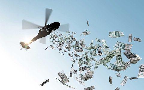 """USA förbereder för """"helikopterpengar"""""""
