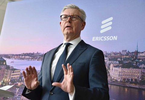 Ericssons vd vill inte ha amerikanska staten som storägare