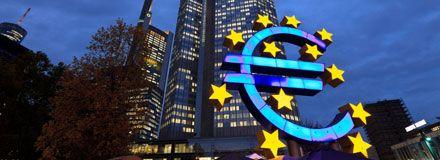 Eurozonen halkar efter
