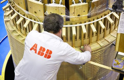 ABB:s resultat något bättre än väntat