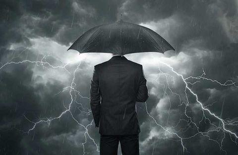 Finanschefer ser mörka moln i omvärlden