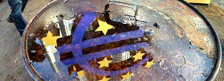 Flykt från eurotillgångar