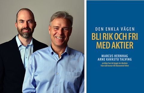 Ny bok av Hernhag & Talving: Bli rik och fri med aktier