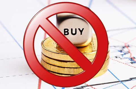 Fyra aktier du inte ska köpa