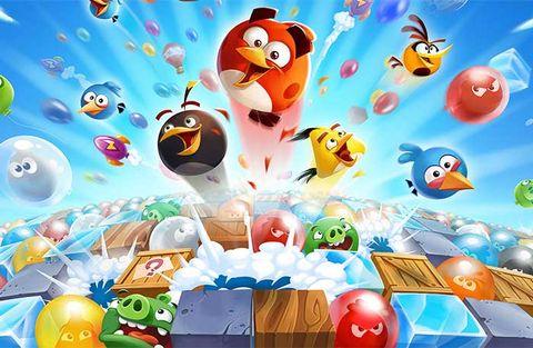 Rovio står bakom succén Angry Birds.