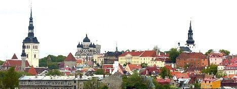 Krisen över i östVy över Estlands huvudstad Tallinn. Foto: Ingvar Karmhed /Scanpix